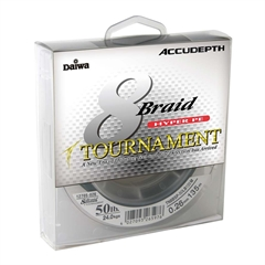 Daiwa Tournament 8 Braid Accudepth Serisi 300m İp Misina